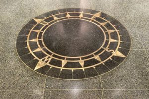 Terrazzo Compass